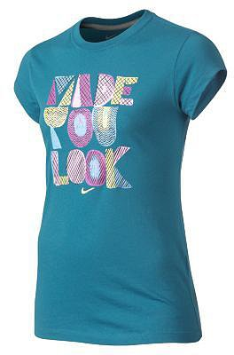 """Nike """"Made You Look"""" Girls' T-Shirt"""