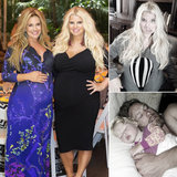 Look Back at Jessica Simpson's Personal Pregnancy Snaps!