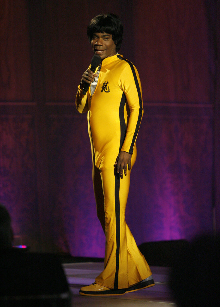 Tracy Morgan dressed up as Bruce Lee when he hosted the Guys Choice Awards in 2007.