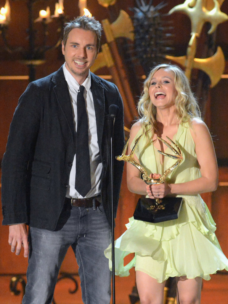 Kristen Bell and Dax Shepard took the stage in 2012 at the award show.