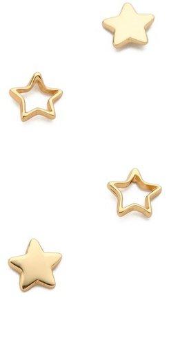 Gorjana Friendship Star Earring Set