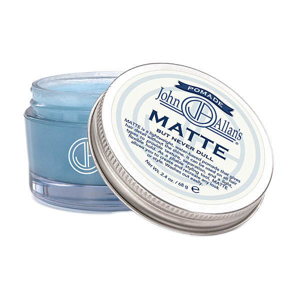 John Allan's Matte pomade ($24) is a water-based fixative that will give your dad the style he wants sans the crunchy results. The nonshiny finish is perfect for the minimal-product kind of guy, and he may even let you steal a dollop for yourself.