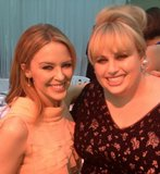 Kylie Minogue and Rebel Wilson hung out together at the Glamour UK Women of the Year Awards in London. Source: Twitter user RebelWilson