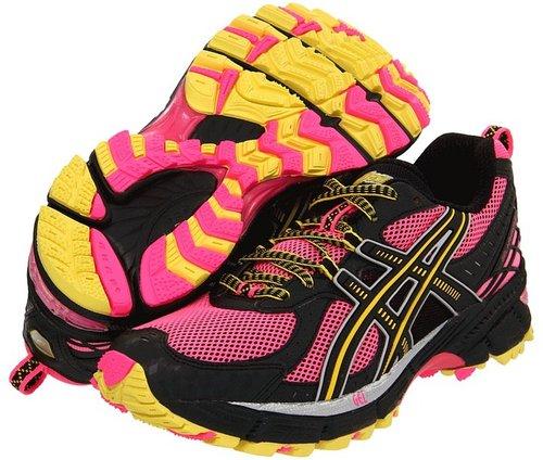 ASICS - GEL-Kahana 6 (Hot Pink/Black/Sun) - Footwear