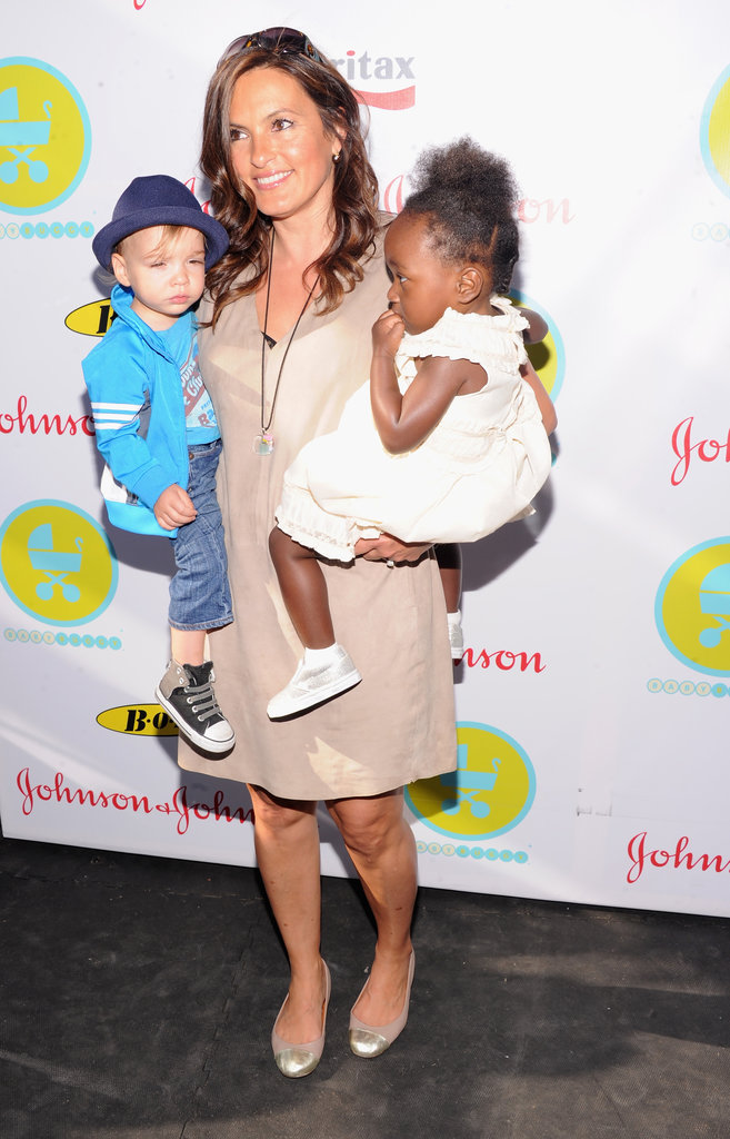 Mariska Hargitay brought her kids to the 2013 Baby Buggy Bedtime Bash.