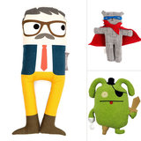 9 Plush Toys Just For Little Boys