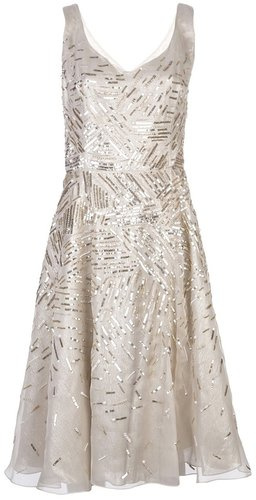 Oscar De La Renta Embellished full dress