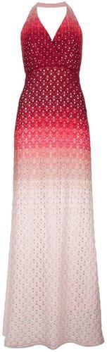 Missoni crochet halterneck maxi dress