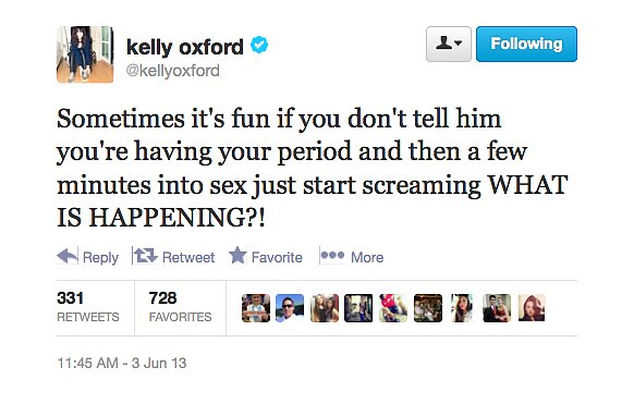 @kellyoxford has an idea for really freaking out your partner in bed.