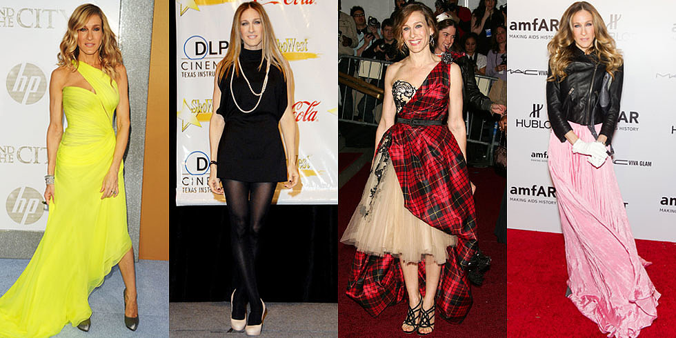 135 Red-Carpet-Ruling Looks From the Woman Who Made Carrie Bradshaw Iconic
