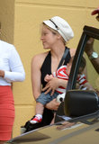 Shakira Takes Her Mini Soccer Star Out in Miami