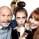 This snap is like a who's who of incomparable fashion and beauty identities. Legendary hair stylist Sam McKnight (he was Princess Di's go-to), model of the moment Cara Delevingne and famed makeup artist Charlotte Tilbury posed for the snap taken by the one and only David Bailey. The glamour of it all! Source: Instagram user caradelevingne