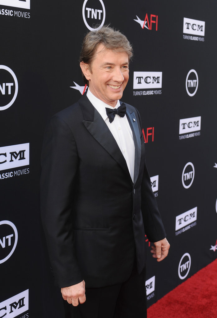 Martin Short walked the red carpet.