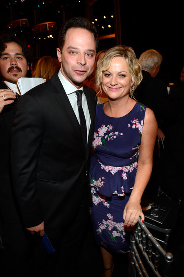 Amy Poehler and Nick Kroll coupled up for the bash.