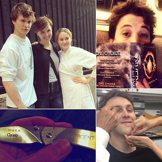 Divergent Sneak Peek: The Cast Shares Behind-the-Scenes Pictures