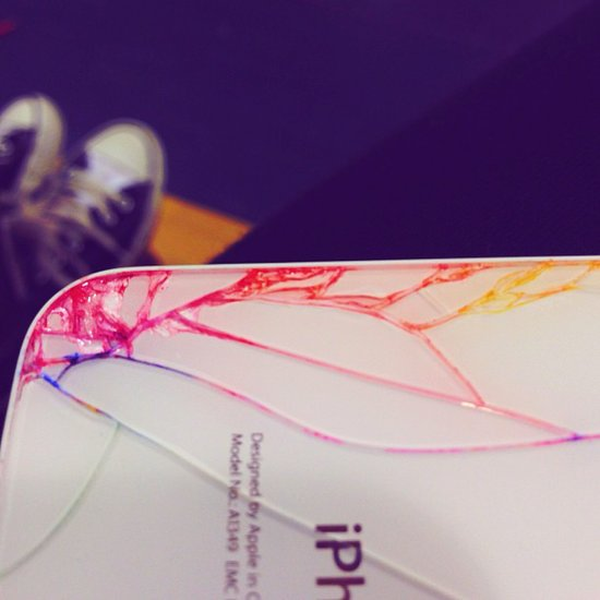 We have to admit, the colors of a transformed iPhone are pretty fun as seen in Instagrammer jaykaybee123's photo.