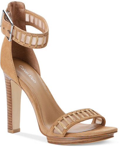 Calvin Klein Women's Shoes, Valinda High Heel Sandals