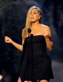 Jennifer Aniston introduced Jimmy Kimmel.