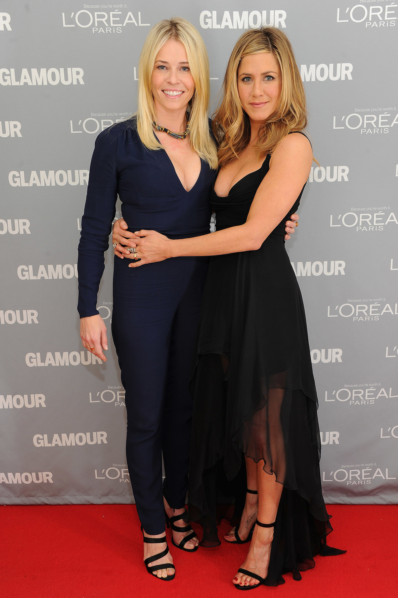 Jennifer Aniston and Chelsea Hand