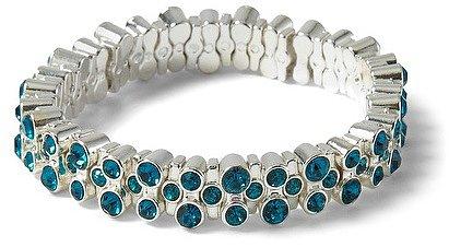 Lagoon Crystal Stretch Bracelet