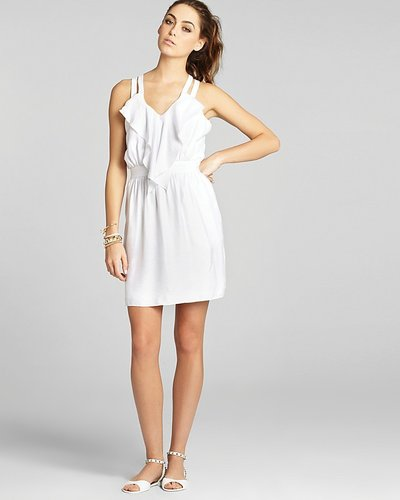 BCBGeneration Dress - Front Ruffle Strappy