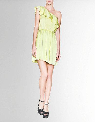 BCBGENERATION LAST STOP! Ruffle-Shoulder Dress
