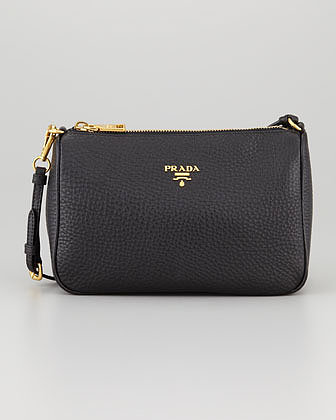 Prada Daino Mini Shoulder Bag, Nero