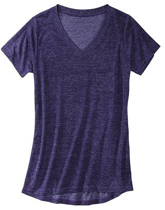 Mossimo® Women's Drapey V-neck Tee - Assorted Colors