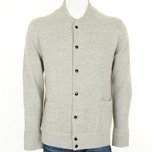 Paul Smith Jeans Button Cardigan Grey Marl