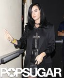 Katy Perry left the Hollywood Palladium separately from Robert Pattinson.