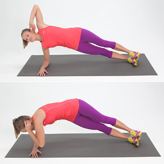 Obliques: Twisting Side Plank