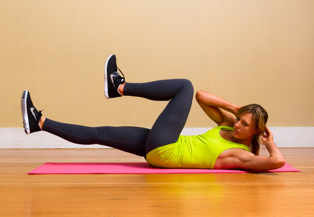 Obliques: Bicycle Crunches