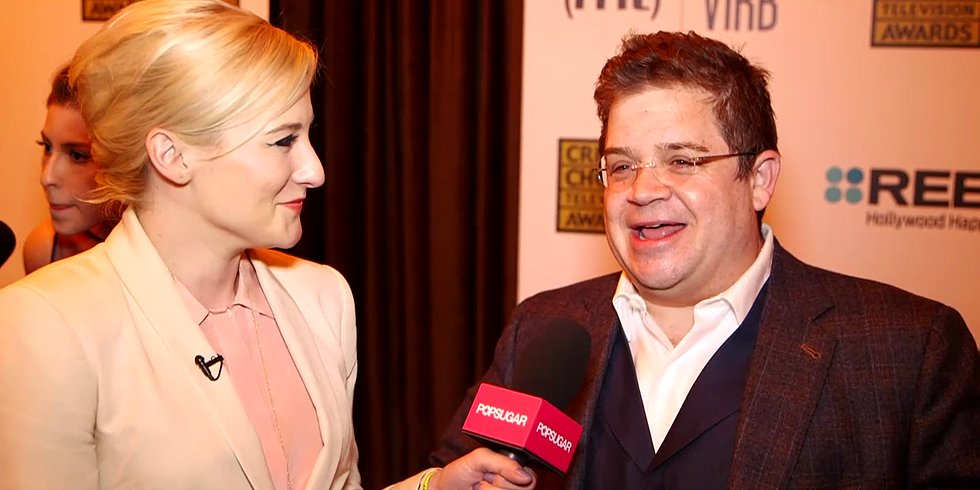 "Patton Oswalt on His ""Drunk at a Bus Stop"" Speech Following His Parks and Recreation Win"