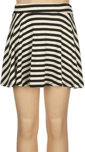 FULL TILT Striped Girls Skater Skirt