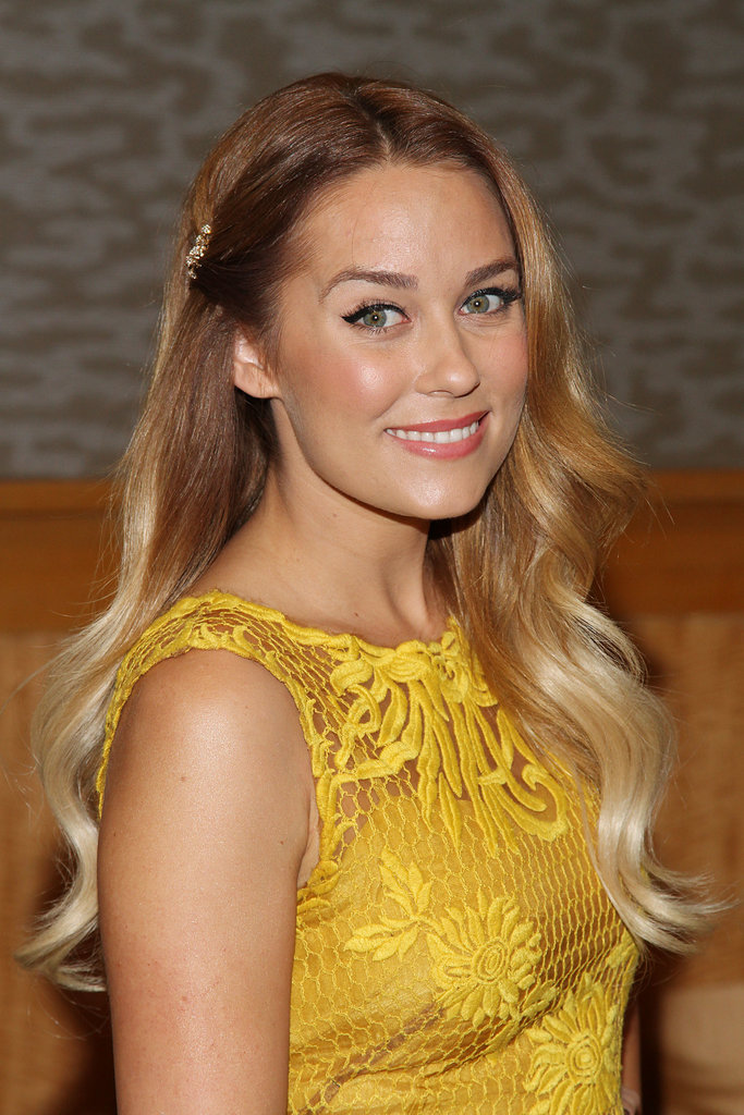 Lauren Conrad's two-toned waves define her cool-girl style.