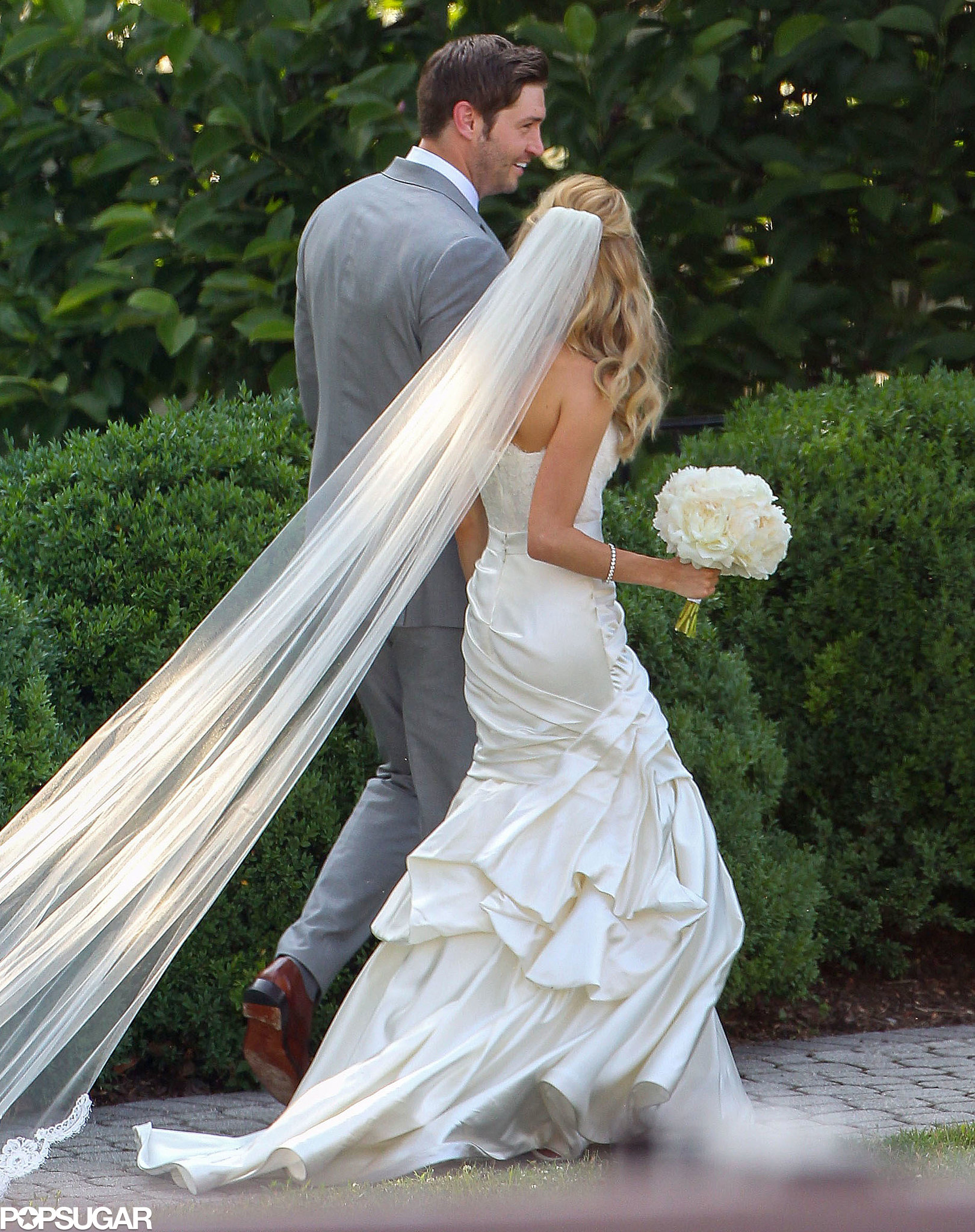 Kristin Cavallari made it official in June 2013 with Jay Cutler in Nashville, TN.