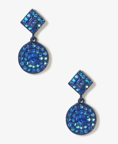 FOREVER 21 Iridescent Drop Earrings
