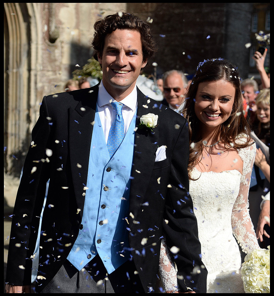 On Saturday, Rupert Finch and Lady Natasha Rufus Isaacs were married in Gloucester, England, with a who's who of royals in attendance. Guests included Princess Eugenie, Prince Michael of Kent, and Prince Harry's rumored girlfriend, Cressida Bonas. Prince William and Kate Middleton — Finch's ex — were reportedly invited, but neither was photographed at the event.