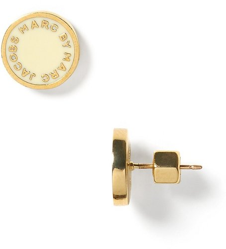 MARC BY MARC JACOBS Logo Disc Studs