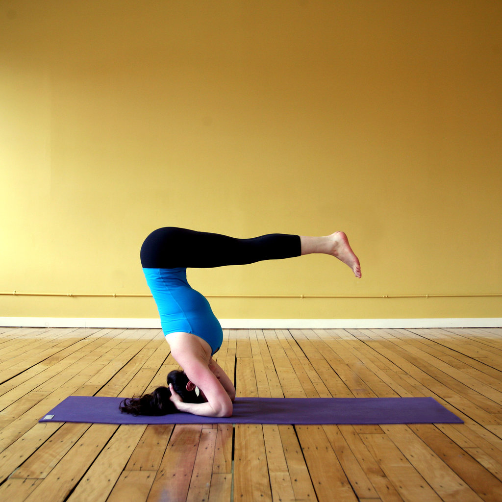 Lowered Bound Headstand (Headstand B)
