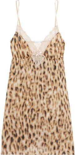Eberjey Leonora lace-trimmed chemise