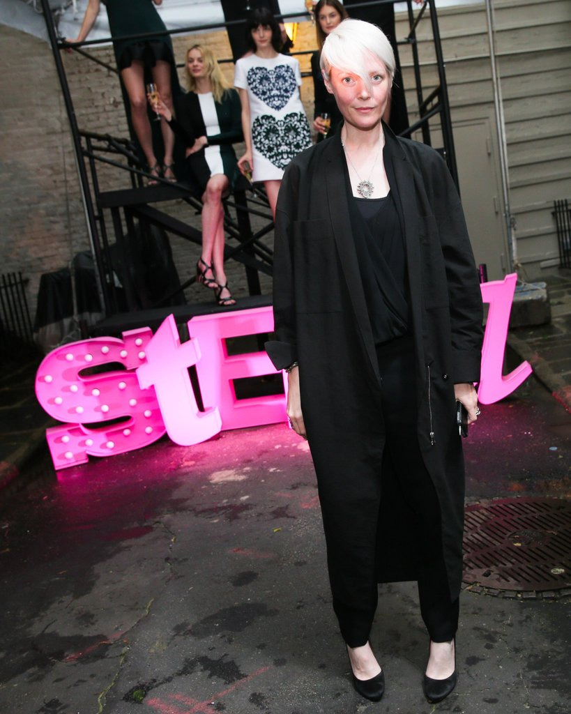 Kate Lanphear at Stella McCartney's Resort 2014 presentation. Source: David X Prutting/BFAnyc.com