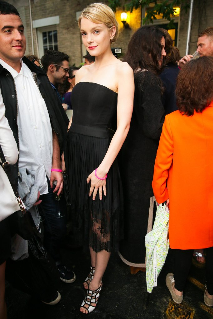 Jessica Stam at Stella McCartney's Resort 2014 presentation in New York. Source: David X Prutting/BFAnyc.com