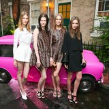 Models at Stella McCartney's Resort 2014 presentation.  Source: David X Prutting/BFAnyc.com