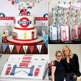 A Bold, Brit-Inspired Birthday Party