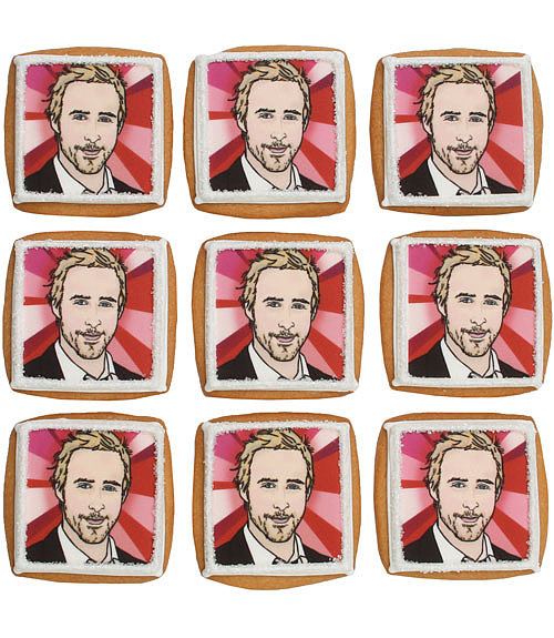 There's only one thing better than cookies to get over a breakup: Ryan Gosling cookies. Create a custom gift box ($20 per box) using his image, and we promise she won't be hurting for long.