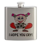 For the girl who appreciates some liquor on the loose, a Hope You Cry flask ($25) will get the job done, tears or no tears.