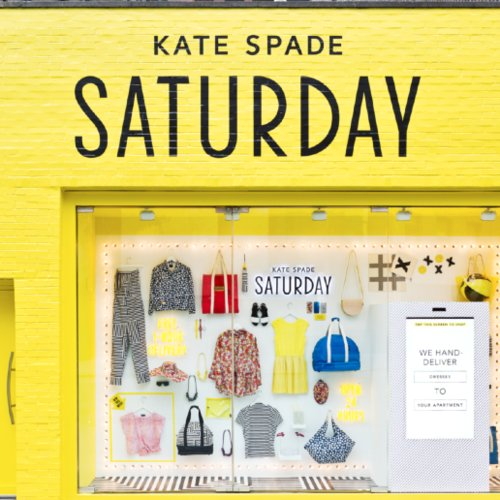 Kate Spade Saturday Digital Storefronts in New York City