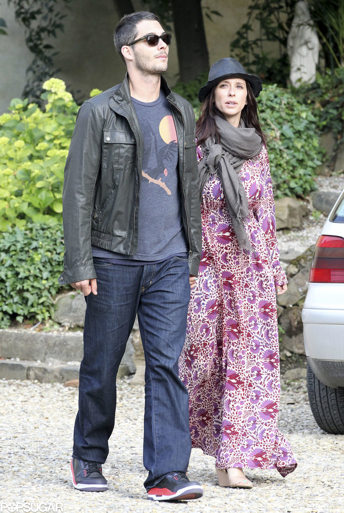 Jennifer Love Hewitt and Brian Hallisay vacationed in Florence, Italy, in May 2013.