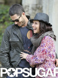 Jennifer Love Hewitt and Brian Hallisay could not get enough of each other while touring in Europe.